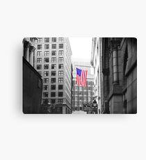 USA alley Canvas Print