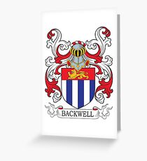 Backwell Coat of Arms Greeting Card