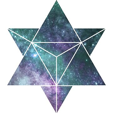 Cosmic Star Tetrahedron by fourfreak