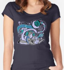 Bag of Tricks (Night) Women's Fitted Scoop T-Shirt