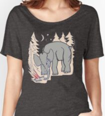 The Microphones - The Glow Pt. 2 Shirt Women's Relaxed Fit T-Shirt