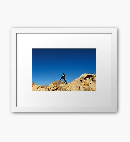 Joshua Tree Woman Framed Print