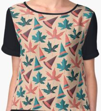 Witches in the Forest Chiffon Top