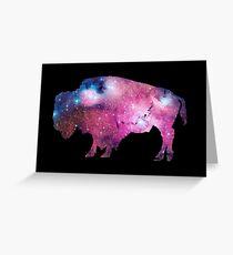 Wyoming Buffalo Space Greeting Card
