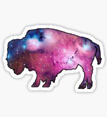 Wyoming Buffalo Space Sticker
