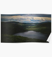 Standing on Sugar loaf Mountain Poster