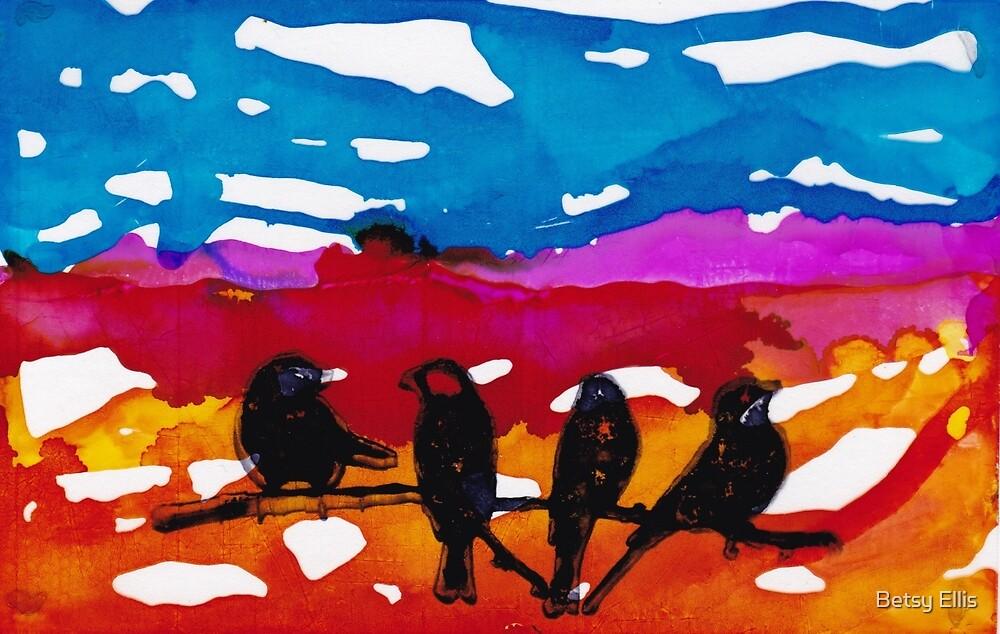 Morning Birds #1 by Betsy Ellis