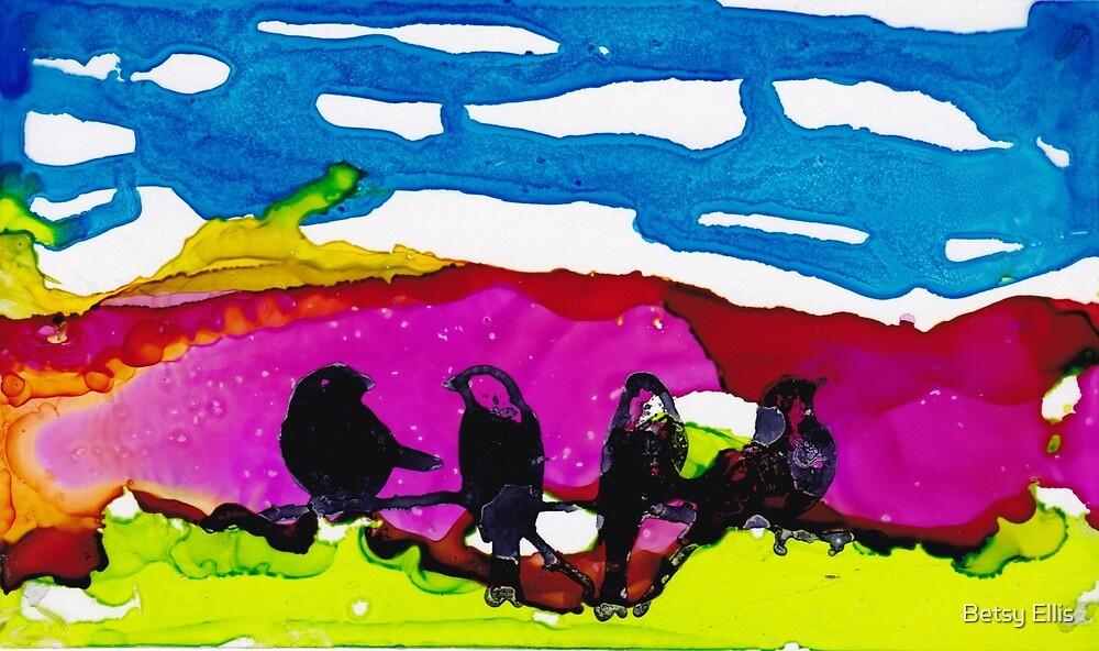 Morning Birds #2 by Betsy Ellis