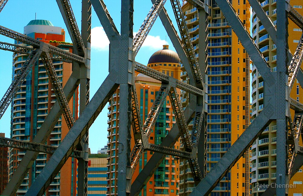 Caged city by Pete Chennell