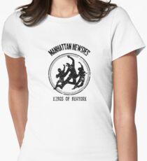 Camiseta entallada para mujer Manhattan Newsies