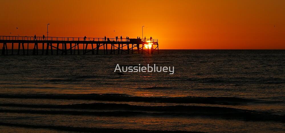 Walking on the Sun by Aussiebluey
