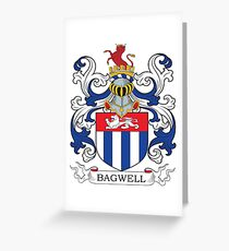 Bagwell Coat of Arms Greeting Card