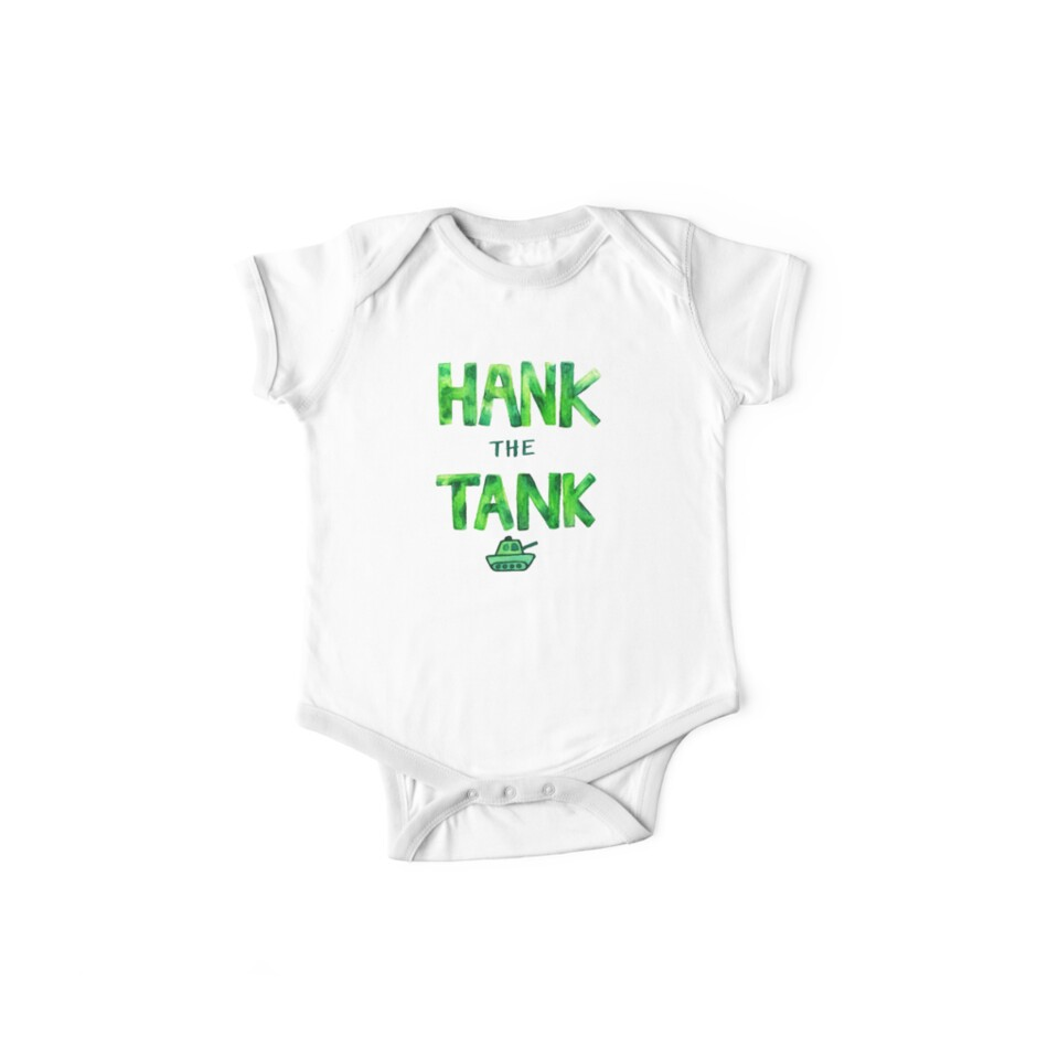 HANK the TANK by lepetitjuif