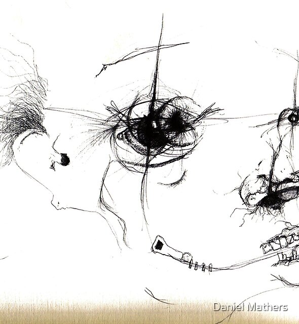 zip head by Daniel Mathers