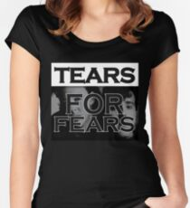 Tears For Fears Women's Fitted Scoop T-Shirt