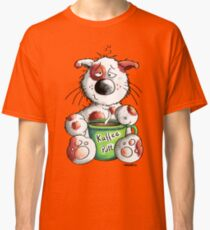 Morning grouch cat Classic T-Shirt