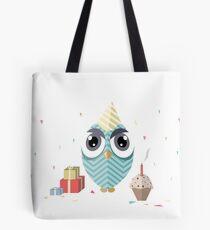 Happy Birthday Owl Tote Bag