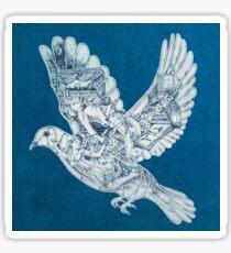 AESTHETIC BIRD ARTISTIC COLDPLAY  Sticker