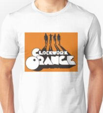 Orange Timepiece T-Shirt