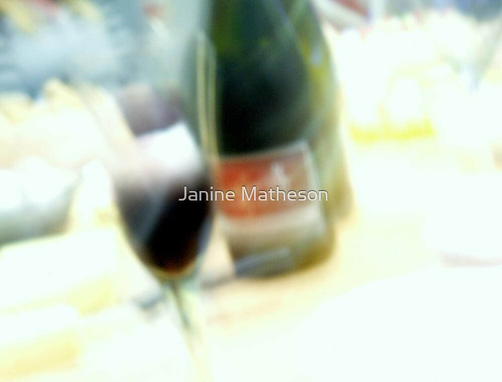 red wine haze by Janine Matheson