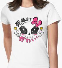 Kawaii Till Die Womens Fitted T-Shirt