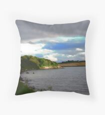 Inch Island, Donegal, Ireland Throw Pillow