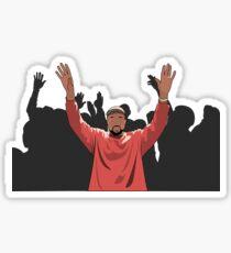 Kanye Crowd Sticker