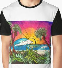 sunset paradise Graphic T-Shirt