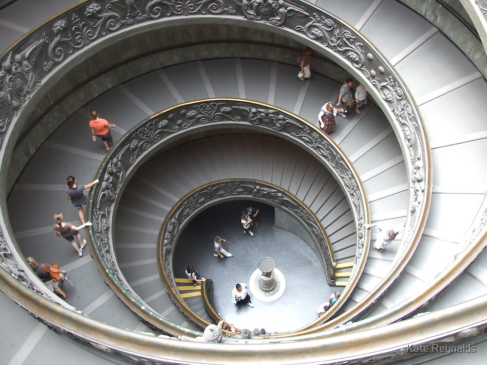 Spiral Staircase by Kate Reynalds