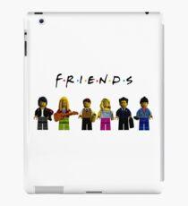 friends parody lego iPad Case/Skin