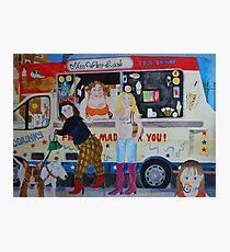 ice cream @ Greenwich park Photographic Print