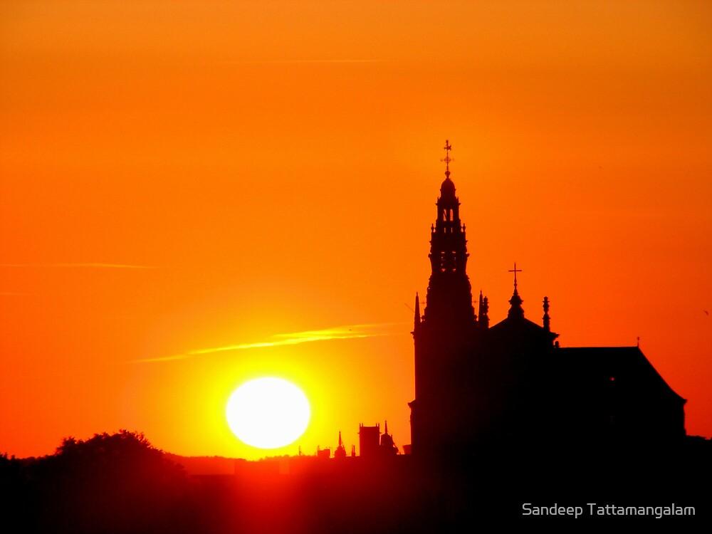 The Rising Sun by Sandeep Tattamangalam