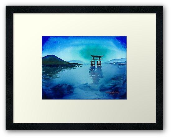 Itsukushima Shrine, Japan by redpaint