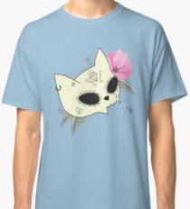 Cat Skull Vanitas Classic T-Shirt