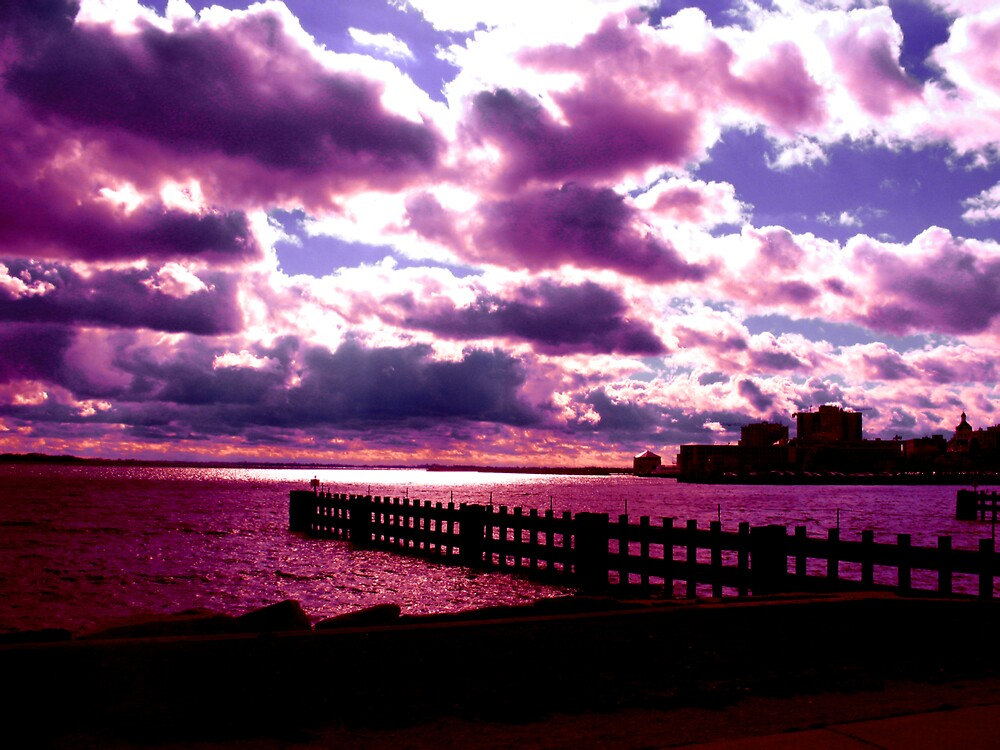 Purple Sunset by nikspix
