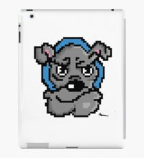 Pixel bulldog iPad Case/Skin