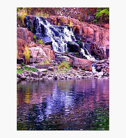 Waterfalls 2 Photographic Print