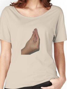 Italian Meme Hand Women's Relaxed Fit T-Shirt