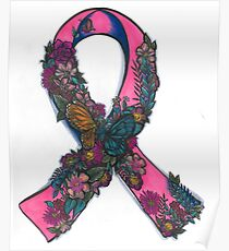 thyroid Cancer Ribbon Poster