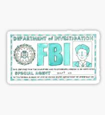 X Files: Fox Mulder Sticker