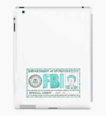 X Files: Fox Mulder iPad Case/Skin