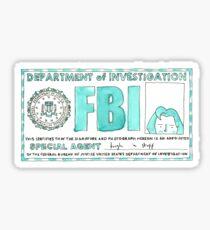 X Files: Dana Scully Sticker