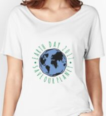 Save Our Planet Earth 2017 Women's Relaxed Fit T-Shirt