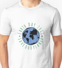 Save Our Planet Earth 2017 Unisex T-Shirt