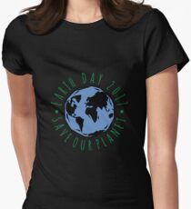 Save Our Planet Earth 2017 Womens Fitted T-Shirt