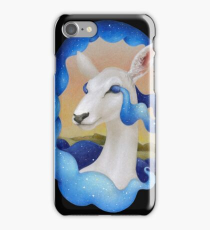 White Deer - Spirit of the Woods iPhone Case/Skin