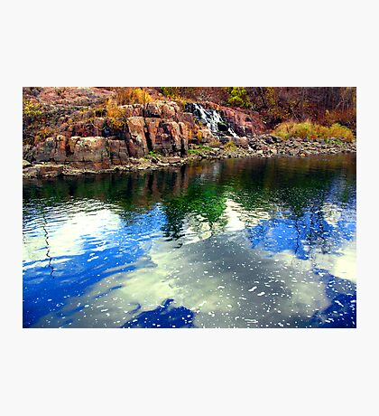 Blue As Day Photographic Print