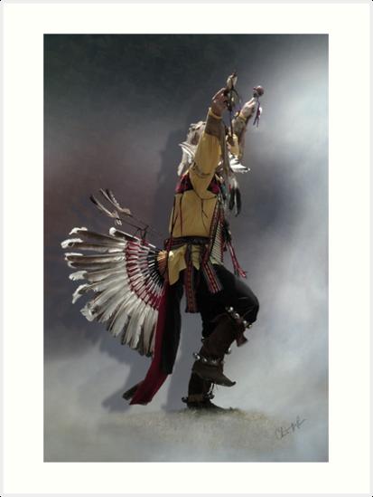 Eagle Dance by Christine Thomas