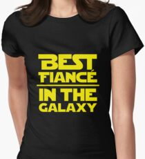 Best Fiance in the Galaxy Women's Fitted T-Shirt
