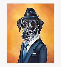 Lafitte, a Dog Of Class Photographic Print